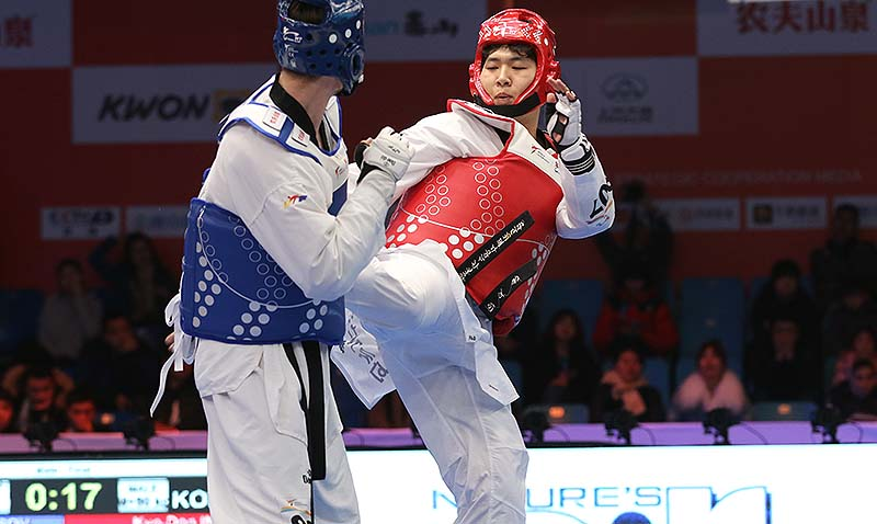 Kyo-Don In and So-Hui Kim triumph at World Taekwondo Grand Slam. 4D Cameras take Champions Series into 'The Matrix'.