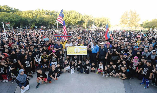 Taekwondo Malaysia organizes fundraising run for refugees