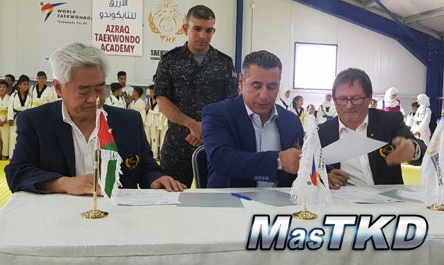 Grand Opening of Azraq Taekwondo Academy's new facility