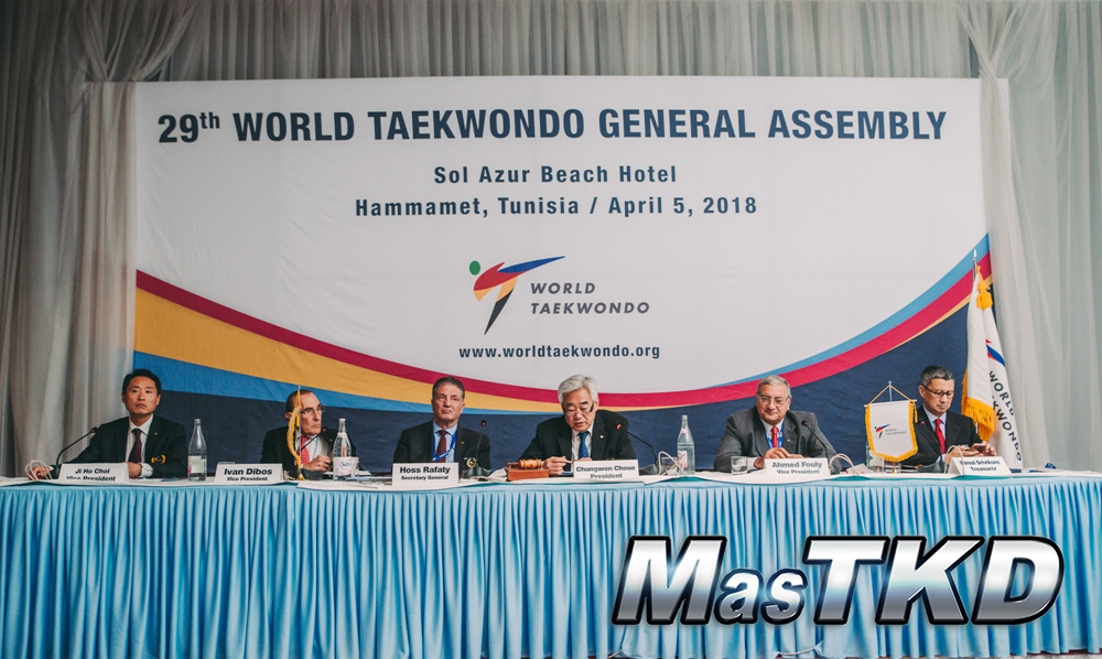 WT General Assembly approves competition rule changes