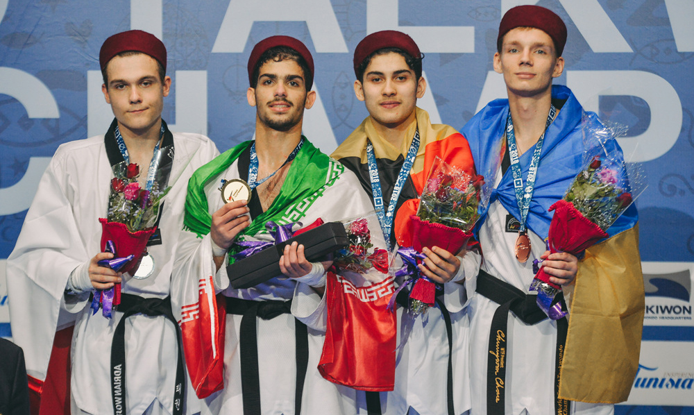 Iran and Serbia share the golds on day four