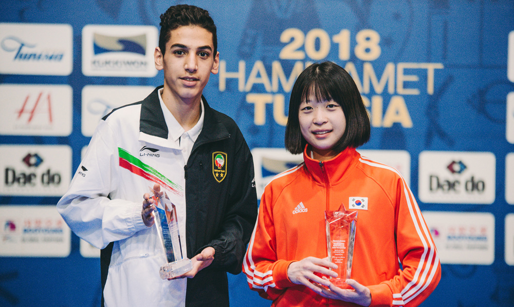Largest-ever WT Junior Championships come to a close with Russia and Iran topping the female and male medal tables