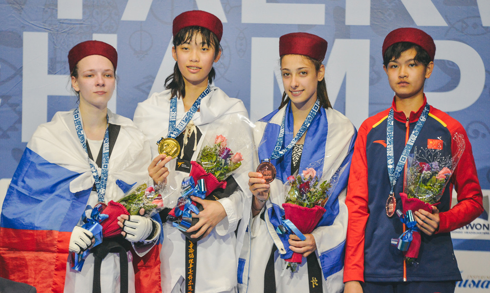 Iran, Azerbaijan, USA & Chinese Taipei claim gold on day 3