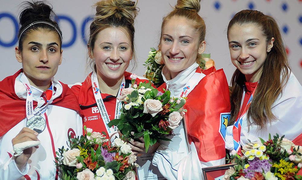 Jade Jones doubled her European gold titles in Kazan