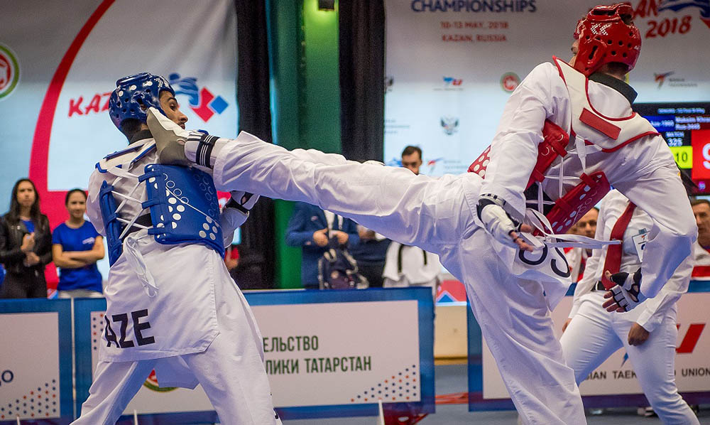 Taekwondo reached its zenith in Maksim Khramtcov's performance