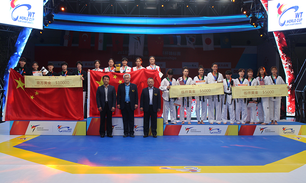 China, Korea and Russia claim gold at WT World Cup Team Championships