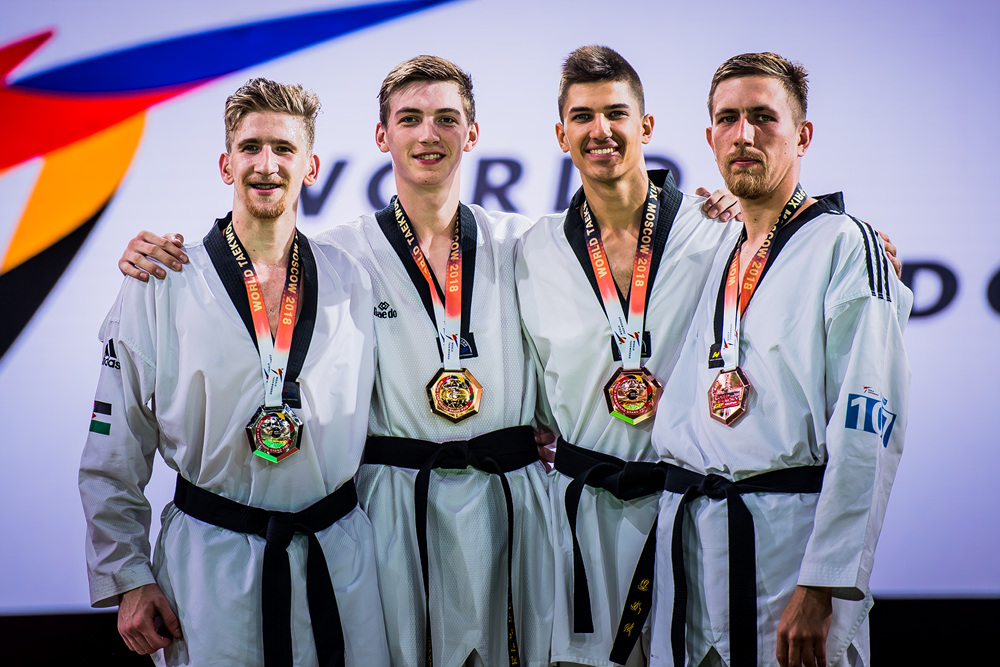 Maksim KHRAMTCOV (second from left)