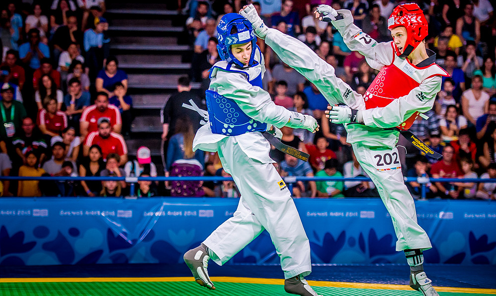 Russia dominates on opening day of Taekwondo at Buenos Aires 2018 YOG