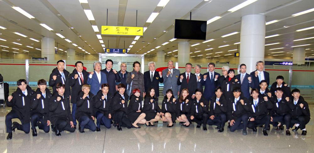 WT delegation arrives in Pyongyang with message of peace
