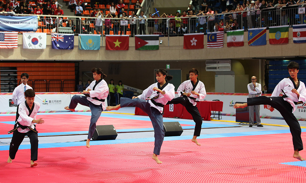 World Taekwondo Poomsae Championships Kick Off in Chinese Taipei