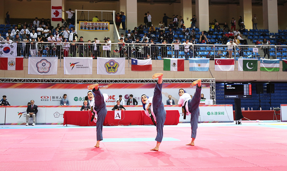 Mexico, Iran, Germany and Korea share medals on second day of Taipei