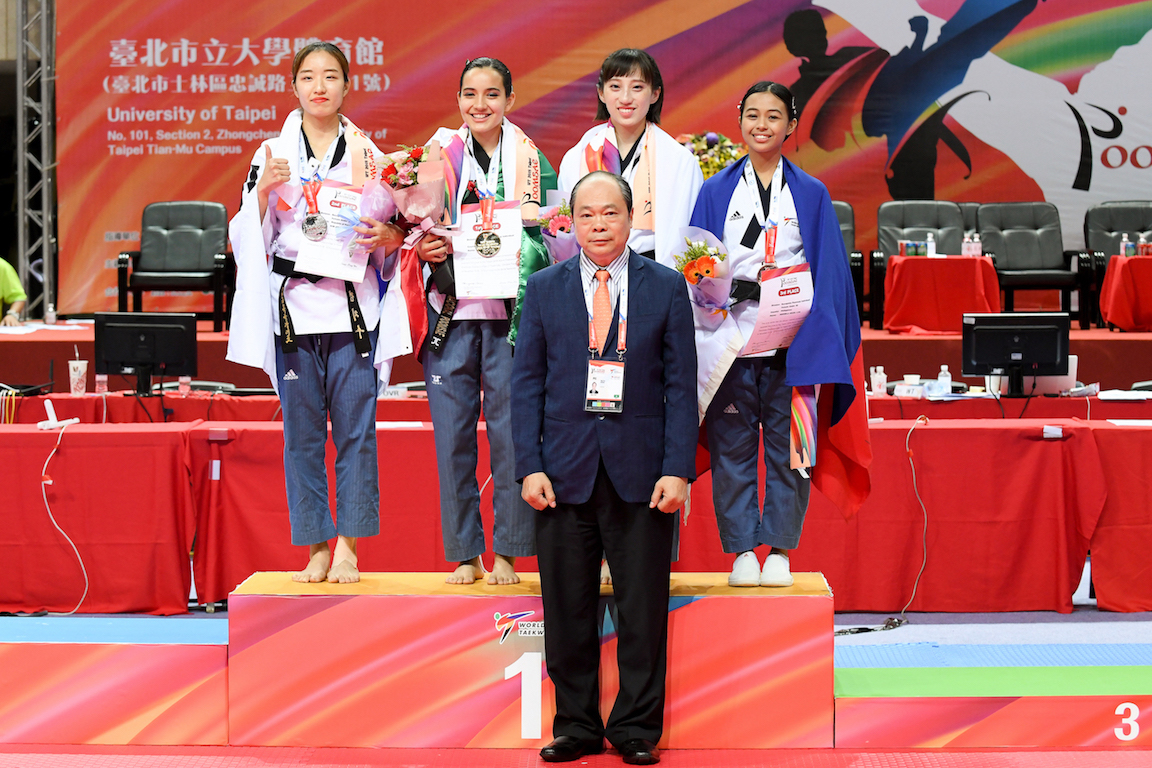 Taipei, USA, Mexico, Iran and Korea grabbed the medals at the World Championships