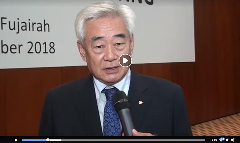 Dr. Chungwon Choue proud of the improvement of Taekwondo