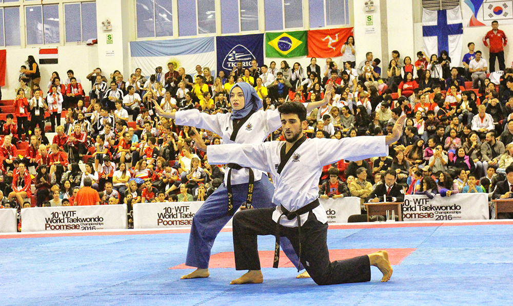 WT Poomsae Championships in Chinese Taipei Sees Record Participation Numbers