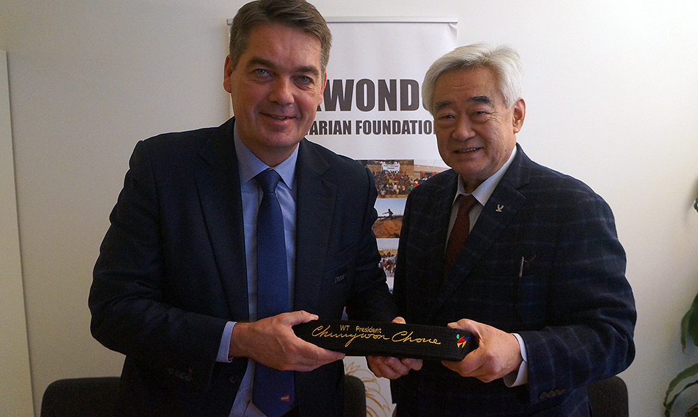 Badminton joins Taekwondo in humanitarian mission