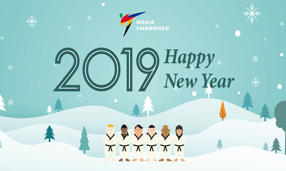 WT President Chungwon Choue's New Year Message for 2019