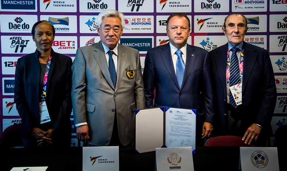 WT, THF sign MoU with International Judo Federation