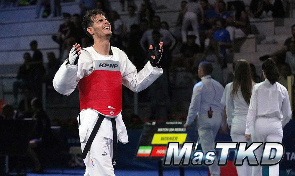 Gold for Iran, Croatia and Russia on the first day of GP Rome 2019