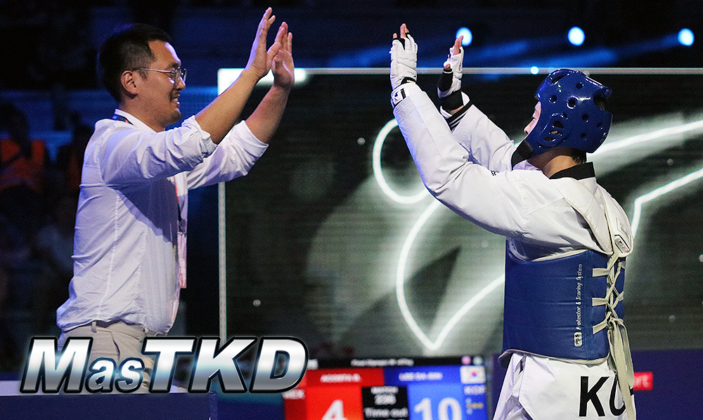 Korea dominate on second day of Roma 2019 World Taekwondo GP