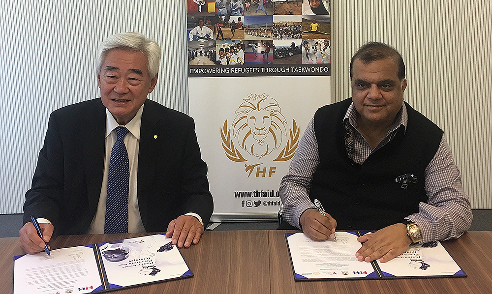 World Taekwondo and International Hockey Federation sign Memorandum of Understanding