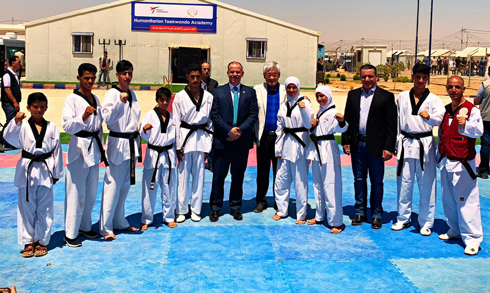 WT, THF and United World Wrestling host historic joint-event in Azraq Refugee Camp