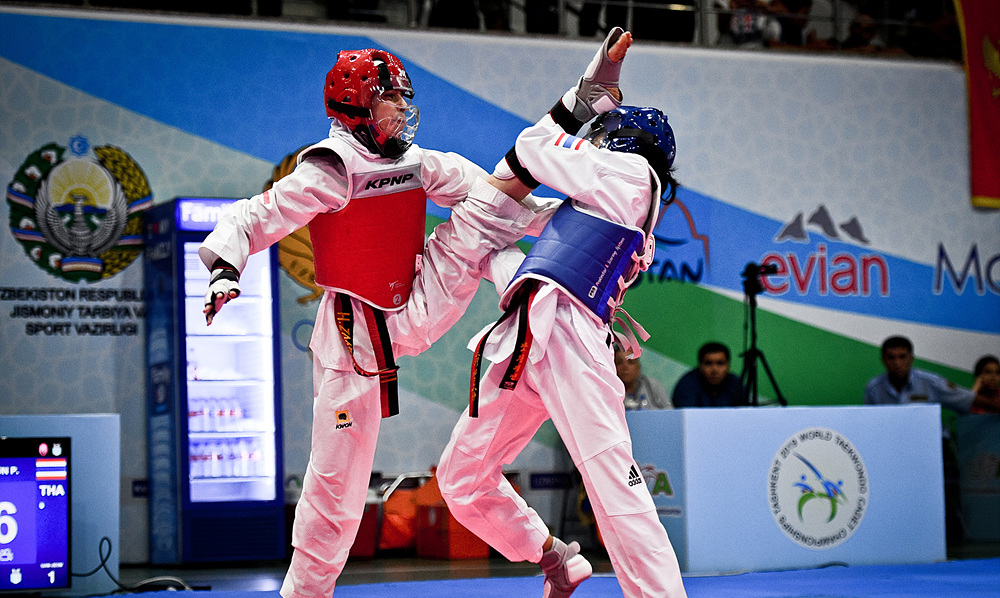 Ukraine, Thailand Russia and Iran strike gold on day two of World Taekwondo Cadet Championships