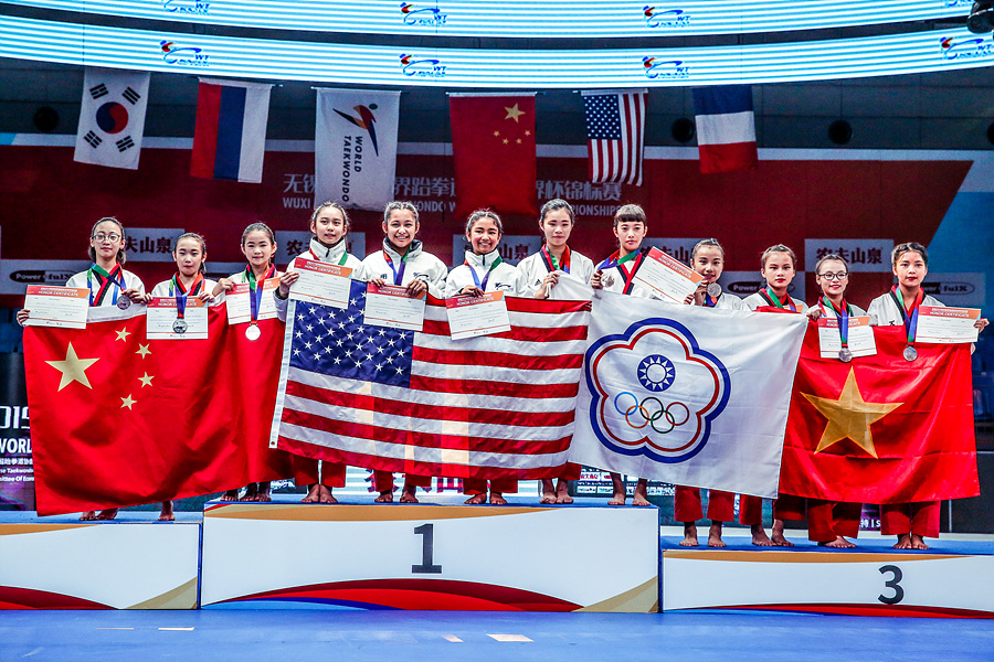 WT World Cup Poomsae Championships gets underway in Wuxi