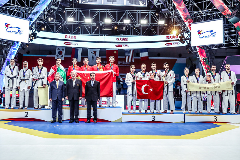 World Taekwondo World Cup Team Championships concludes in Wuxi