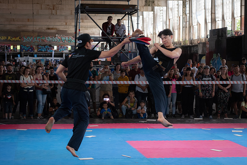Taekwondo Hits the Streets at 1st World Urban Games