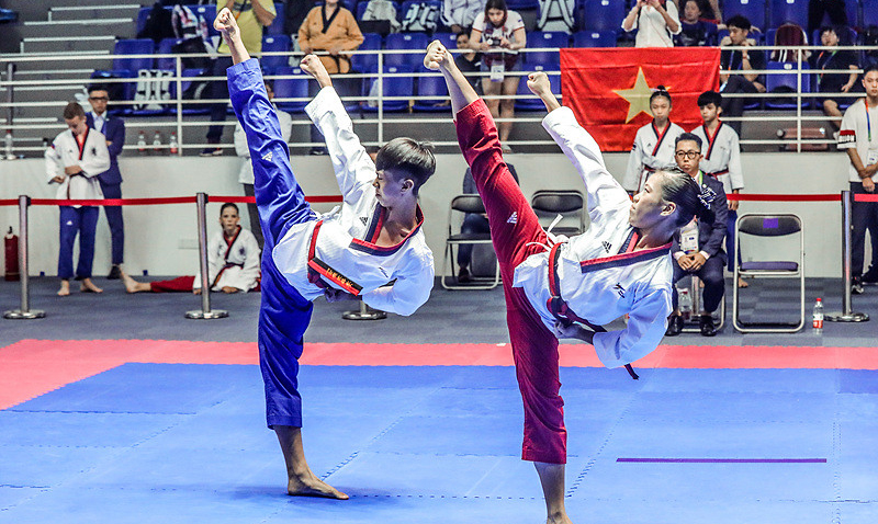 Ranking in Poomsae will be used for the first time