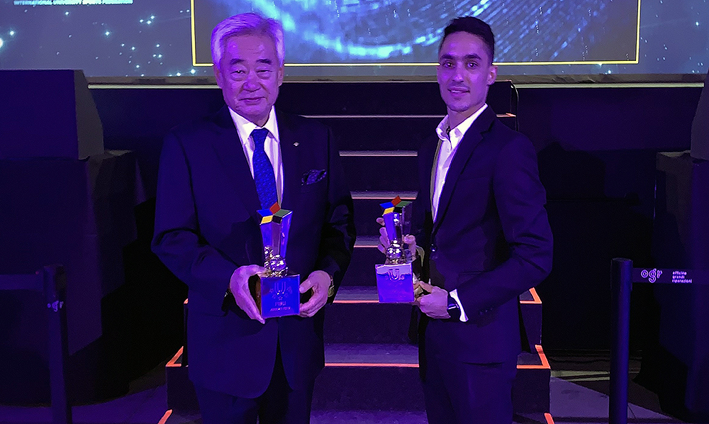 WT and Hadipour awarded FISU's Best International Sports Federation & Best Male Athlete