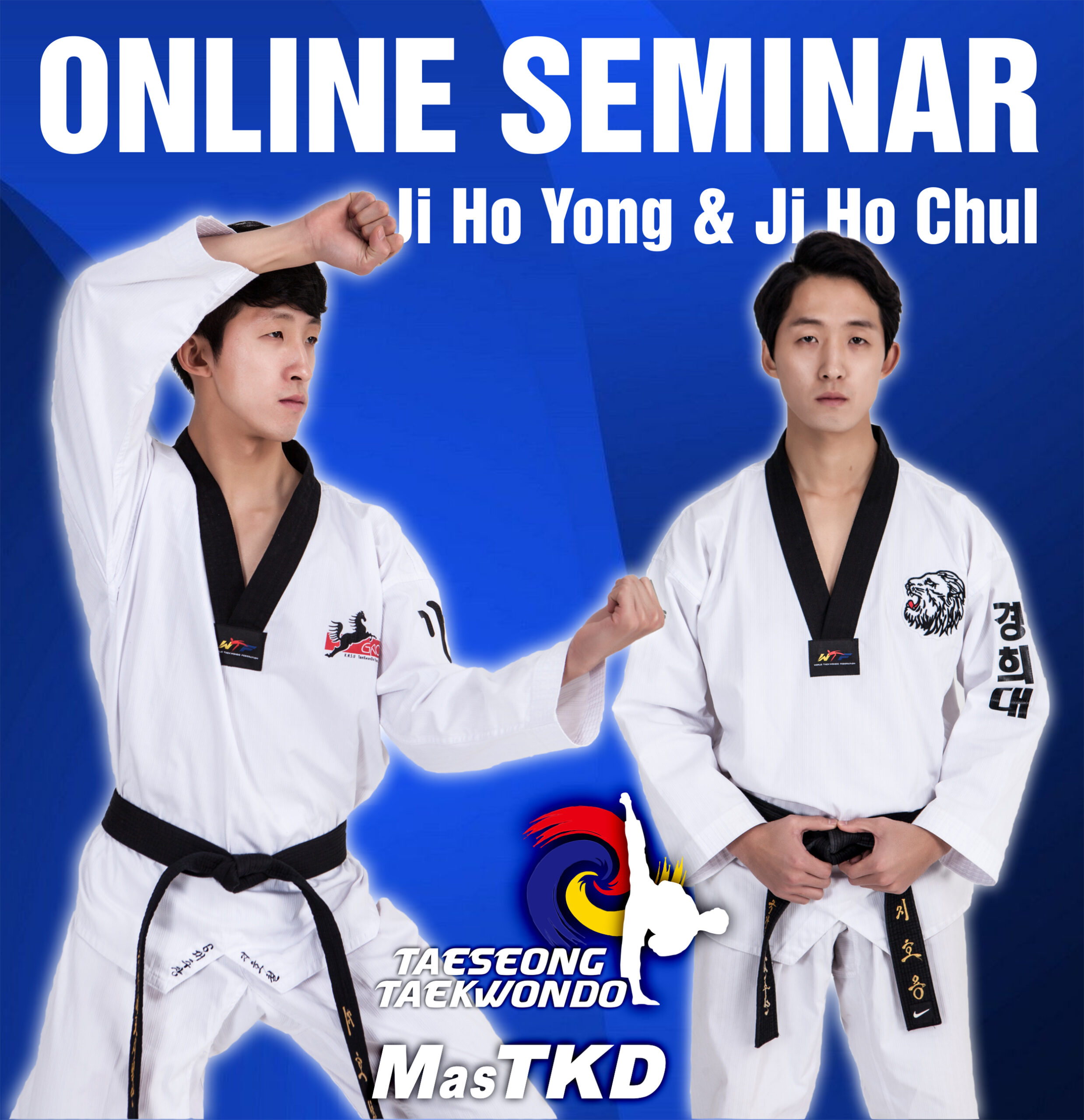 Freestyle and Recognized Poomsae Online Seminar with TS Taekwondo